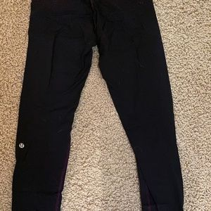 Reversible Lulu Lemon Leggings